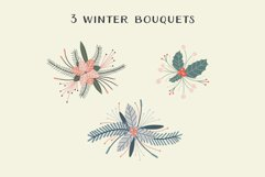Christmas Wreaths And Bouquets - Winter Flowers And Plants Product Image 5