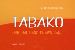 TABAKO Handdrawn Sans Product Image 1