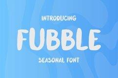 Web Font Fubble Font Product Image 1