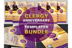 Clergy Anniversary Template Bundle Product Image 1