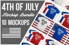 Fourth Of July Tshirt Bundle America Mockup Shirts Unisex Product Image 1