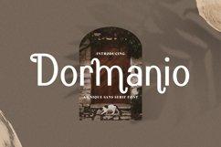 Web Font Dormanio Product Image 1