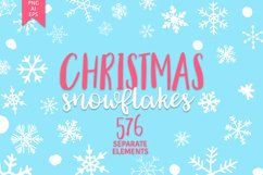 Christmas snowflakes Product Image 1