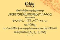 Goldy | Brush Handwriting Font Product Image 6