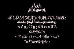 Hello Miassond Casual Brush Font Product Image 4