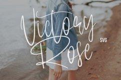 Victory Rose SVG Brush Font Product Image 1