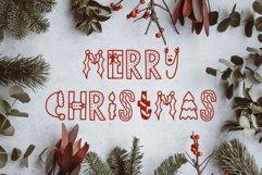 Dasher, A Christmas Holiday Symbols Font Product Image 4