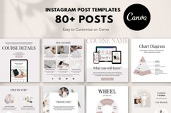 Engagement Instagram Post Templates, Podcast, Course Creator Product Image 1