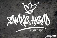 Snake Head Graffiti Product Image 1