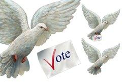 Vote Clipart, Voting Clipart, Voting Usa Clipart Product Image 3