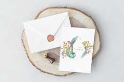 Time to Thanksgiving. Watercolor Thanksgiving cards Product Image 2