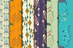 Ethnic tribal seamless pattern set Product Image 3