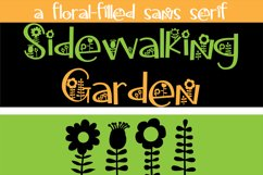 Sidewalking Font Duo Product Image 3