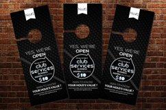 Black Door Hangers Product Image 2
