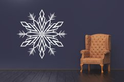 500 Snowflake Vector Ornaments Product Image 2