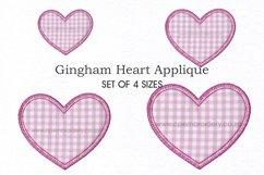 Simple Heart Applique Design Product Image 1
