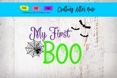 My First Boo with Spiders, First Halloween, Bat Web Product Image 1