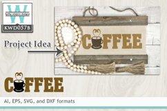 BUNDLED Coffee Cutting Files KWD057 Product Image 3