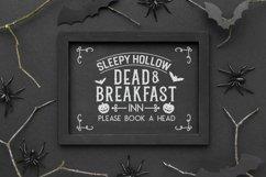 Vintage Halloween Signs Decor svg - halloween svg files png Product Image 5