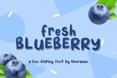Fresh Blueberry Product Image 1