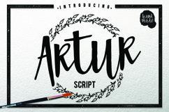 Web Font Artur Script Product Image 1