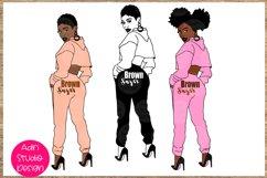 Bundle svg Black woman Nubian Princess black woman Product Image 1
