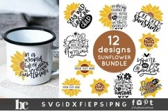 Sunflower SVG Bundle  Sunflower Bundle SVG   Sunflower svg Product Image 1