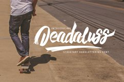 Deadaluss font Product Image 1
