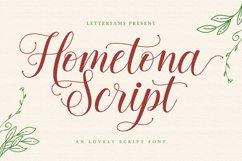 Hometona Script Product Image 1