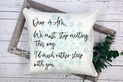 Insomnia SVG Cut File Dear 4AM Invisible Illness Sublimation Product Image 2