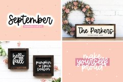 Font Bundle - Handwritten Fonts for Crafters - Almost Autumn Product Image 4