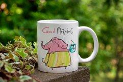 Little Elephant - 20 illustrations Product Image 2