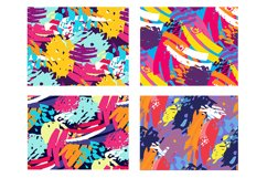 Abstract trendy pattern set Product Image 2