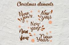 Christmas abstract set SVG Product Image 6