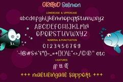 Grilled Salmon - Cute Playful Script Product Image 6