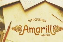 Amarill Font Product Image 1