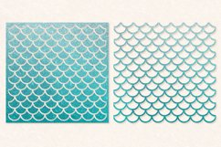 Mermaid Scales SVG | Mermaid Scales for Cameo & Cricut Product Image 1