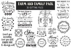 Farm and Family Cut Files Pack - Limited PROMO! Product Image 2