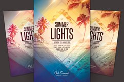 Summer Lights Flyer Product Image 1