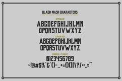 Web Font Black Mask Product Image 5