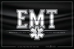 EMT, Emergency Medcial Technician, EMT SVG, Medical SVG Product Image 1
