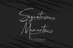 Signature Moments - Classy Signature Font Product Image 1