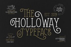 The Holloway Typeface and EXTRAS Product Image 1