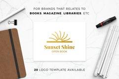 Books & Magazine Logos Bundle Pack Product Image 2