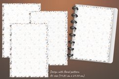 Printable writing paper lined dotted blank insert. A5 size Product Image 4