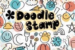 Doodle Procreate brushes, Procreate brushes, doodle stamp Product Image 1