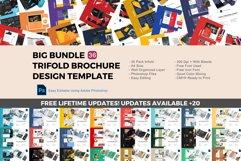 Update! Bundle 36 trifold brochure design templates Product Image 1
