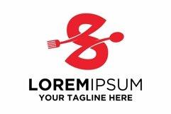 Letter S Food logo design Product Image 1