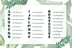 Dinosaur Font for Crafters with Cricut and Silhouette Product Image 3