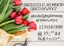 Petal Pusher - an adorably cute hand written font Product Image 5